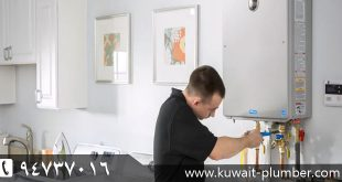 Installation of water heaters in Kuwait